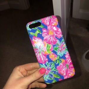 lily pulitzer iphone 7/8 plus phone case